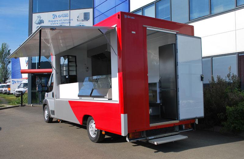 Camion cuisine du monde le camion am nag par gruau le mans - Camion amenage pour cuisine ...