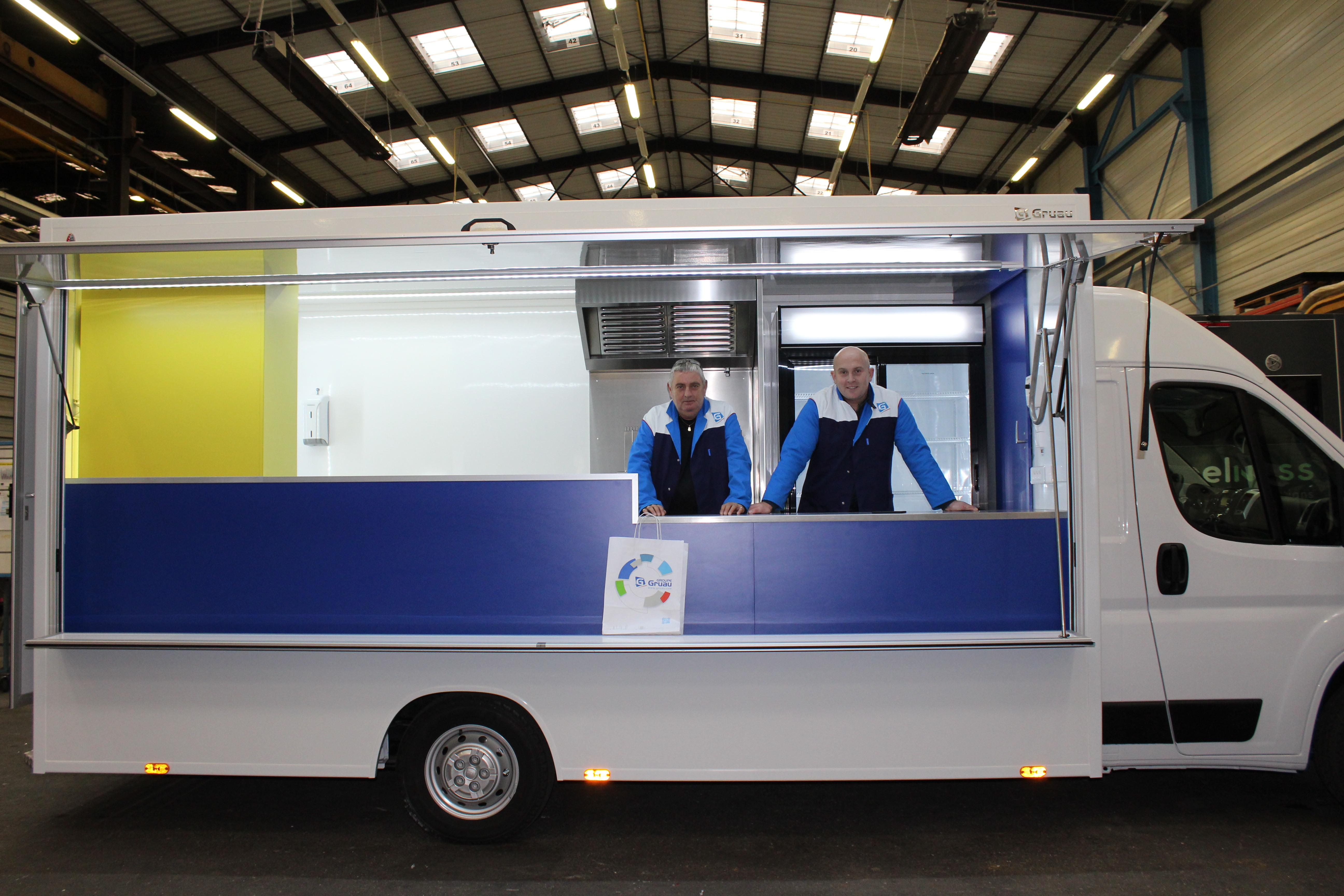 Livraison Food truck Crêperie – Octobre 2019